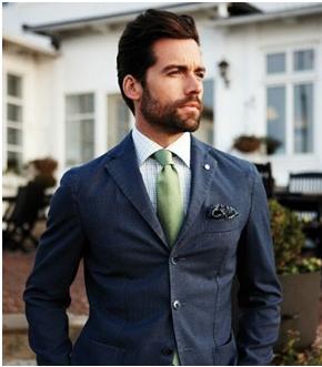 Corbatas verdes